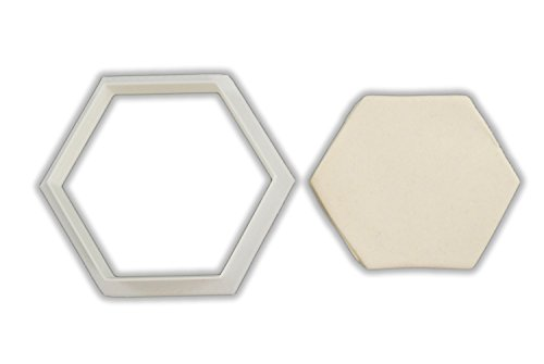 Hexagon Cookie Cutter - LARGE - 4 Inches