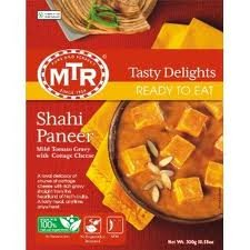 MTR Ready-to-eat Variety Pack - Palak Paneer - 300g / Shahi Paneer - 300g / Paneer Butter Masala - 300g (Total of 3 Packs) by MTR