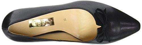 Gabor Shoes Gabor Basic, Zapatos de Tacón para Mujer, Pacífico Negro (37 Schwarz)