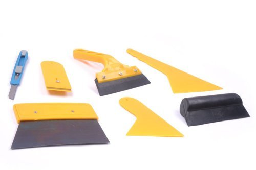KAFEEK New Arrival 7pcs Car Glass Protective film Installing Tool