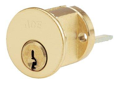 Ace Hardware- HAMPTON PRODUCTS 01-3250-320 RIM CYLINDER - BRASS FINISH - Ace Rim Cylinder