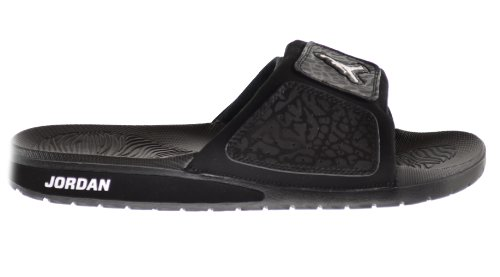 0794a730f2a5e1 Jordan Hydro 3 Men s Slides Black White 630754-011 (8 D(M) US) - Buy Online  in UAE.