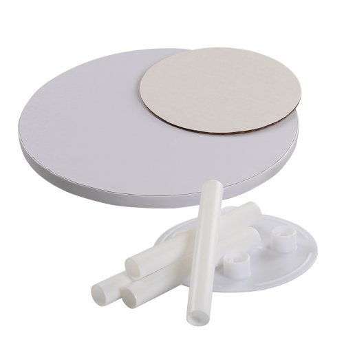 Bakery Crafts Two Tier Cake Stacking Kit