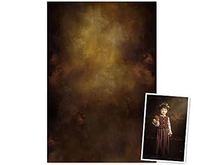 WaW Fonc/é Toile de Fond pour Studio Photo Vintage Tissu D/écor pour Photographie 1,5 x 2,2 m