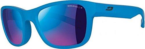 Julbo Kid's Reach L Sunglasses, Matte Blue, Spectron 3+ Mlayer Lens, 6-12 Years