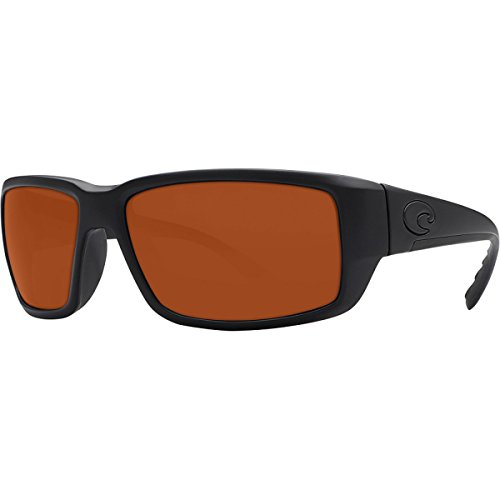 Costa Fantail Blackout Polarized Sunglasses - Costa 580 Glass Lens Copper, One - Fantail Blackout