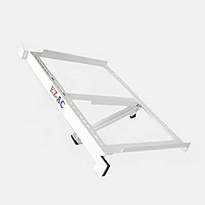 EZ-AC Air-Conditioner Support Bracket (No Drilling Required, Made In U.S.A)