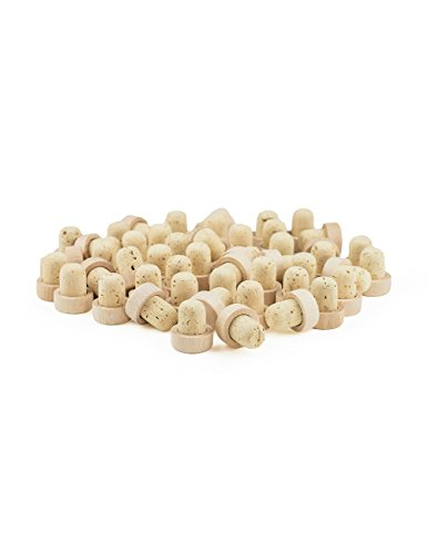 Cork and Wood Bottle Stopper: 50 pieces