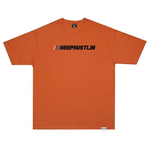 Camiseta Wanted - Racing laranja Cor:Laranja;Tamanho:GG