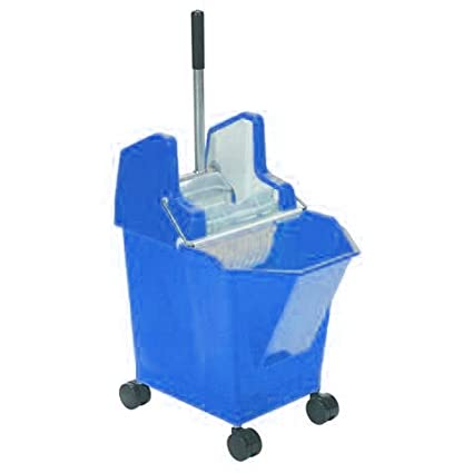 SYR Ladybug PROFESSIONAL HEAVY DUTY mop bucket 15 litre HOODED Coasters PRO sir Blue