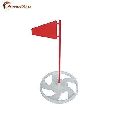 MarketBoss Backyard Putting Green Cup Golf Target Flag Golf Practice Training Putter Marker Flagstick