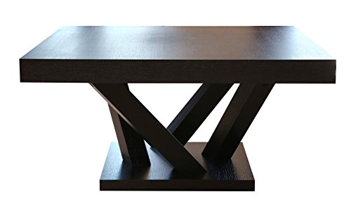 Abbyson Laurel Wood Square Coffee Table