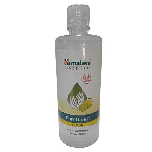 Himalaya Pure Hands | Hand Sanitizer – 500 ml (Lemon)