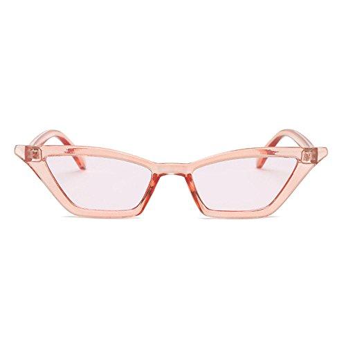 Retro De Dames Technolog Designer Rouge Brand Qbling Noires Vintage Cat Clair Luxury Eye Lunettes Soleil Petit Femme Rose tPqwZHq