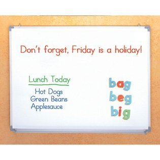 3-In-1 Magnetic, Flannel, Dry Erase Board