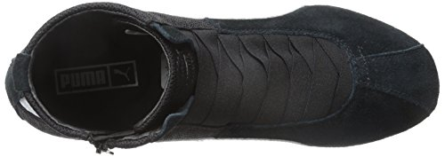 PUMA Women's Eskiva Mid Textured Cross-Trainer Shoe, Black, 7 M US by PUMA (Image #8)