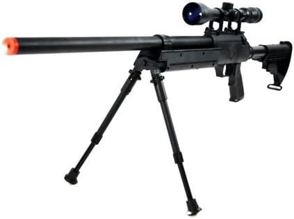 470 FPS WellFire APS SR-2 Modular Full Metal Bolt Action Sniper Rifle w/ Scope PKG MB06D