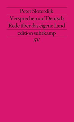 Versprechen auf Deutsch. Rede über das eigene Land