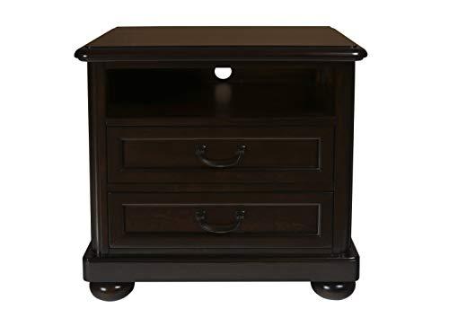 New Classic Furniture 05-230-042 Canyon Ridge Nightstand, Chestnut