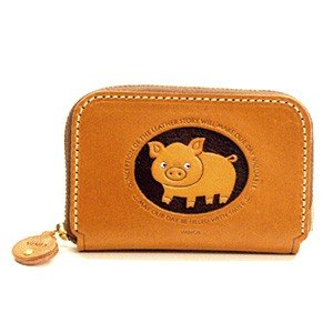 Amazon pig genuine leather animal business card case vanca pig genuine leather animal business card case vanca handmade in japan colourmoves