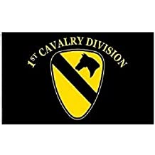 FindingKing U.S. Army 1st Cavalry Division Flag 3ft x 5ft