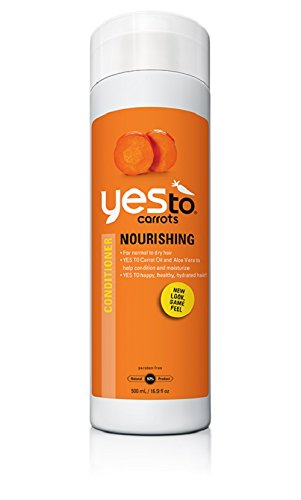Yes To Carrots Nourishing Conditioner, 16.9-Ounce Bottles (Pack of (Happy Carrot)