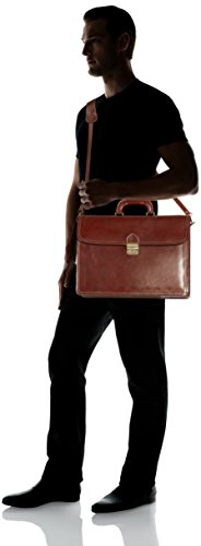 Leder Rindsleder Arbeitstasche Lehrertasche Schultasche Aktentasche MARRONE Businesstasche Bürotasche Dokumententasche Herrentasche Damentasche Laptoptasche 01752