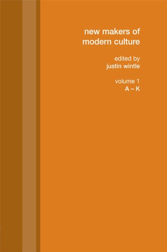 Download New Makers of Modern Culture: 1 Pdf