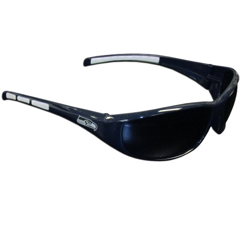 Siskiyou Gifts Co, Inc. 2FSG155NFL Seattle Seahawks Wrap Sunglasses]()