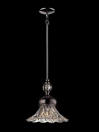 Dale Tiffany GH14323 Ovation Crystal Mini Pendant Polished Chrome