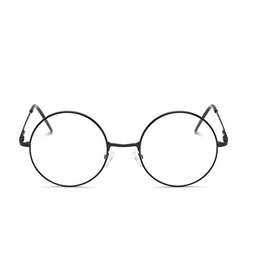 metal unisex retro de para Marco gafas luz marco Wuudi de gafas planas de de RI0Zxq8