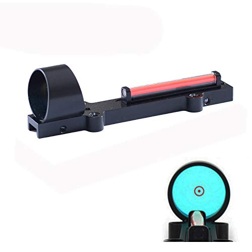 Outdoor Hunting Lightweight Fiber Sight 1x28 Red Dot Optics Sight Scope Hunting Shooting