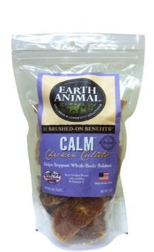 Earth Animal Calm Chicken Cutlets 10oz Bag By Earth Animal
