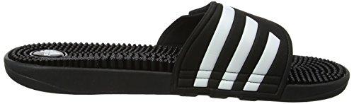 Negro Adidas Zapatos Mujer Adissage para Runbla Negro Playa 000 de Piscina y Negro qg8rqw5