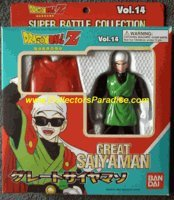 Super Battle Collection (Dragonball Z Bandai Japanese Super Battle Collection Action Figure Vol. 14 Great Saiyaman)