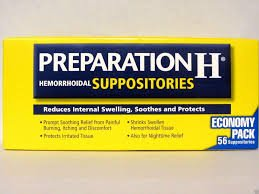 Preparation H Hemorrhoidal Suppositories ~ 56 Count by Preparation H