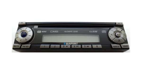 Amazon.com: BLAUPUNKT radio control unit for ALICANTE CD32 spare parts 8636595065: Automotive