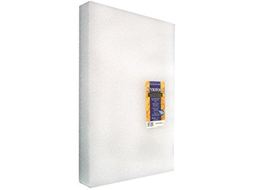 Block Arranger Styrofoam (FloraCraft Styrofoam Block 1.9 Inch x 11.8 Inch x 17.8 Inch White)