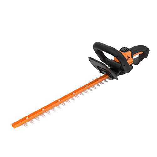 WORX WG261.9 20V (2.0Ah)  Power Share 20-inch Cordless Hedge Trimmer, bare tool only (Renewed)