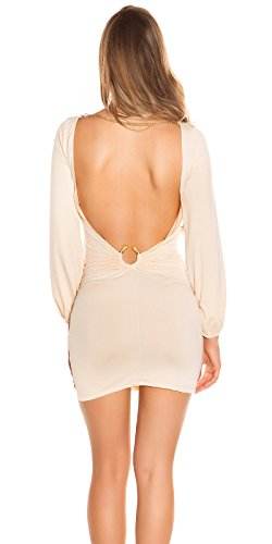 Champagne Robe De Femmes Koucla
