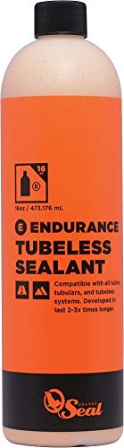 (Orange Seal Cycling Endurance Tubeless Tire Sealant Refill, 16 oz)