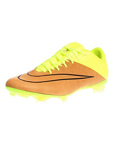 Football volt Black Vapor Boots canvas Lthr Mercurial Men 's Nike Yellow X Fg Gold Black SqHZZ0