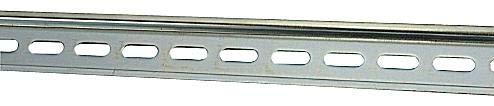 - 017322005 - DIN Mounting Rail, DIN Mounting Rail, Entrelec SNK Series Terminal Blocks, 2 m, 7.5 mm, 35 mm (Pack of 5) -17322005