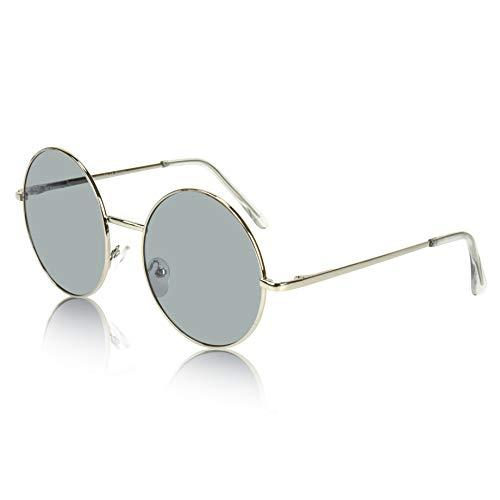 - SunnyPro Fake Tinted Sunglasses Thin Gradient Lens Sun Glasses For Women Grey