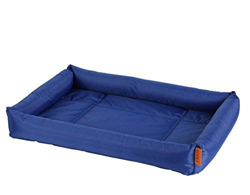 FERZA Home Cooler Cold Bed Pet Tappeto di Raffreddonnato per Animali Domestici Coperta Cane Comfort Bed Self Cooling Pad Pet (Blu Scuro, L)