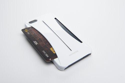 Anymode Pocket Hard Case für Apple iPhone 5 weiß