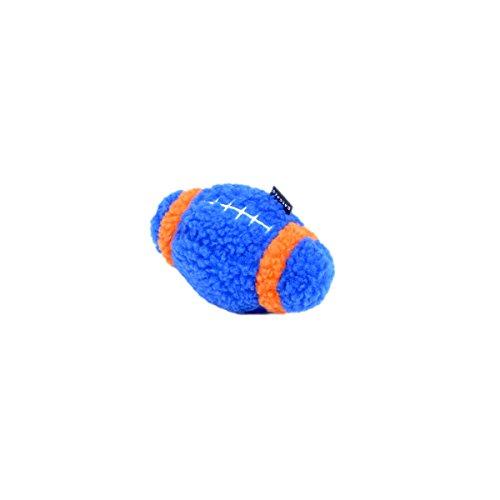 Rascals Fleece Football Squeaky Dog Toy, 6