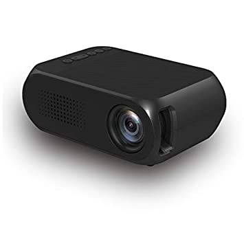 Amazon.com: Projector-Mini Projector Proyector 500 LM Audio ...
