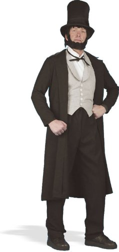 [Abraham Lincoln Deluxe Adult Costume Size Medium] (Abraham Lincoln Deluxe Adult Costumes)