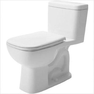 Duravit 113010001 D-Code One-Piece Toilet, White Finish
